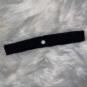 Lululemon Black Headband